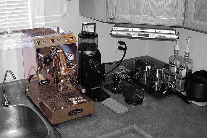 Tiny Craftsman Comes With Espresso Station: Two Small Dosing Technique Questions