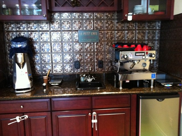 Help me design my espresso bar for Pictures of home coffee bars