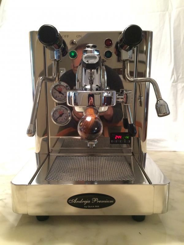 andreja espresso machine