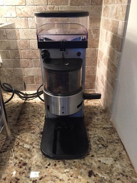 sold la cimbali max junior hybrid grinder buy sell. Black Bedroom Furniture Sets. Home Design Ideas