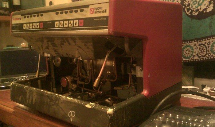 nuova simonelli espresso machine troubleshooting
