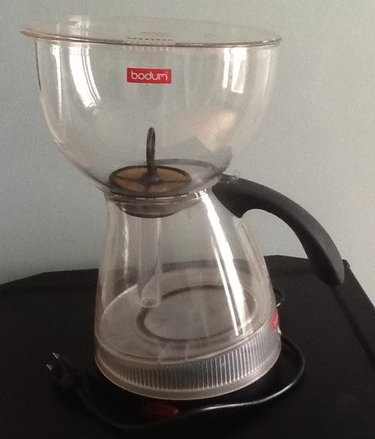 Vacuum Coffee Maker Instructions : Bodum Santos Electric - Last Look?