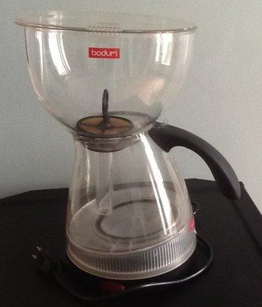 bodum vacuum coffee maker instructions