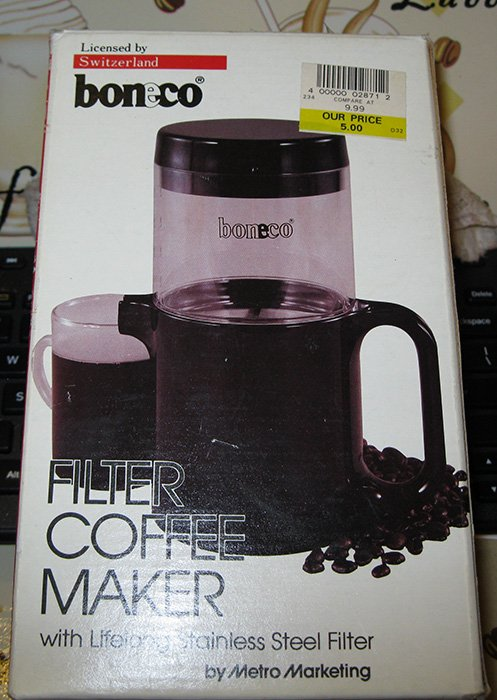 Best Filter Coffee Maker For Home : The Boneco Filter Coffee Maker - Home-Barista.com