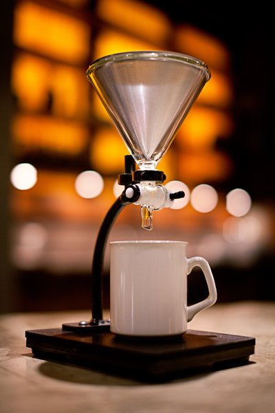 Commercial coffee machine size