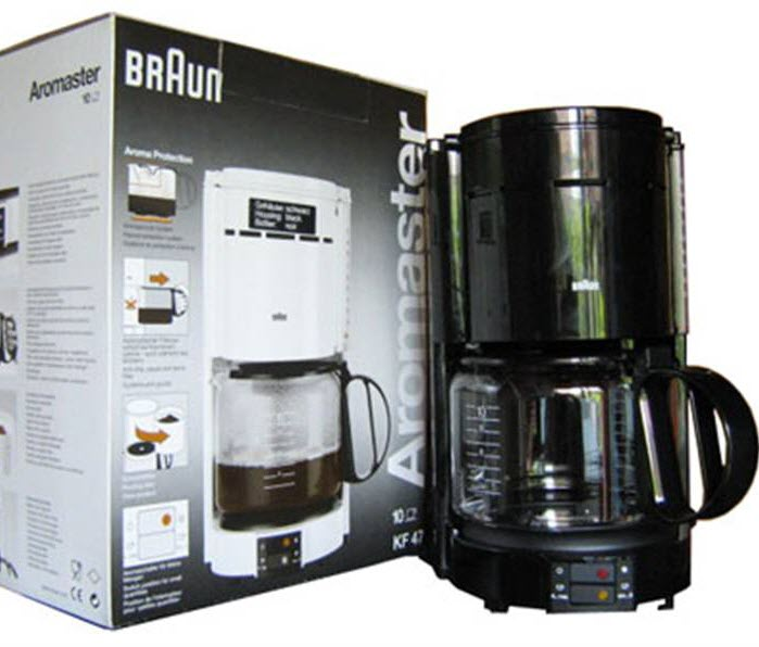 Braun Coffee Maker Repair Guide : Braun Espresso Master Parts List : The Citadel