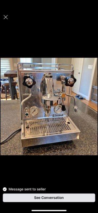 Macchina caffè Profitec Pro 500 + Macinacaffè Profitec Pro M54